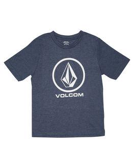 SMOKEY BLUE KIDS TODDLER BOYS VOLCOM TEES - Y57117G1SMB