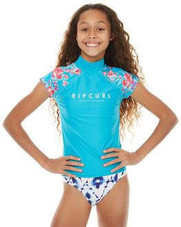BLUE SURF RASHVESTS RIP CURL GIRLS - WLY7EJ0070