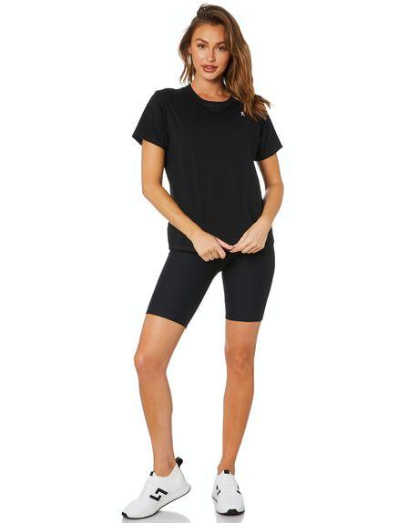 BLACK WOMENS CLOTHING DK ACTIVE ACTIVEWEAR - DK06-026-BLK-XS