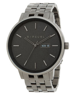 GUNMETAL MENS ACCESSORIES RIP CURL WATCHES - A30410036