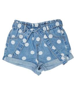 LIGHT BLUE KIDS GIRLS EVES SISTER SHORTS + SKIRTS - 8044034LTBLU