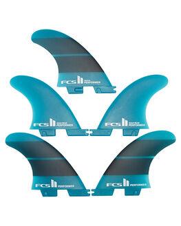 TEAL GRADIENT BOARDSPORTS SURF FCS FINS - FPER-NG03-MD-FS-R