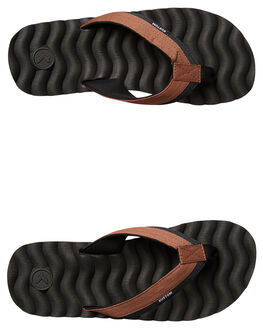 SLATE TAN MENS FOOTWEAR KUSTOM THONGS - 4992218FSLATA