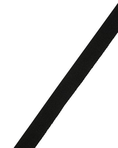 BLACK MENS ACCESSORIES OBEY BELTS - 100050026BLK