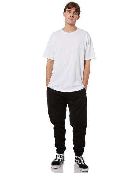 BLACK MENS CLOTHING RPM PANTS - 21WM18B1BLK