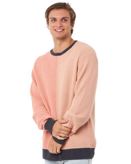 PINK MENS CLOTHING BARNEY COOLS KNITS + CARDIGANS - 420-CR1PINK
