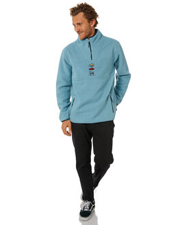 LIGHT BLUE MENS CLOTHING RIP CURL JUMPERS - CFENL1LBLU