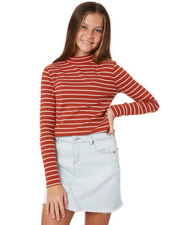RUST KIDS GIRLS SWELL TOPS - S6194103RUST