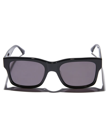 GLOSS BLACK MENS ACCESSORIES CRAP SUNGLASSES - COSMF001GGGBLK