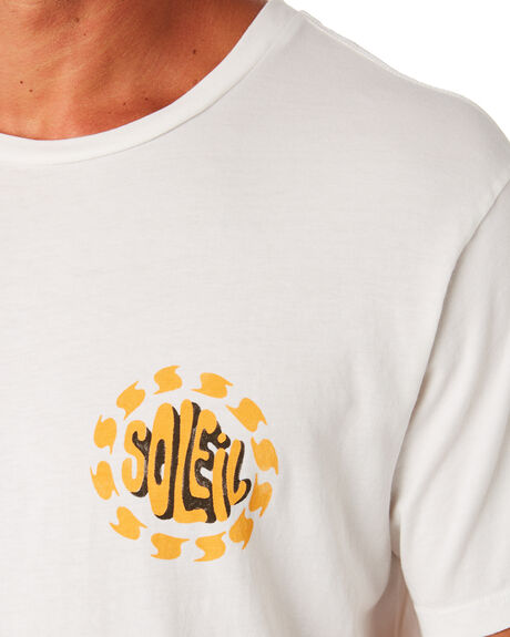 WHITE OUTLET MENS MOLLUSK TEES - MS1731WHT