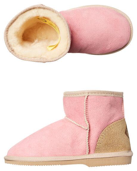PINK KIDS GIRLS UGG AUSTRALIA FOOTWEAR - CHMINKIDPINK