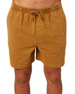 TAN MENS CLOTHING STUSSY SHORTS - ST093606TAN