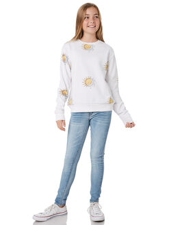 WHITE KIDS GIRLS SWELL JUMPERS + JACKETS - S6194543WHITE