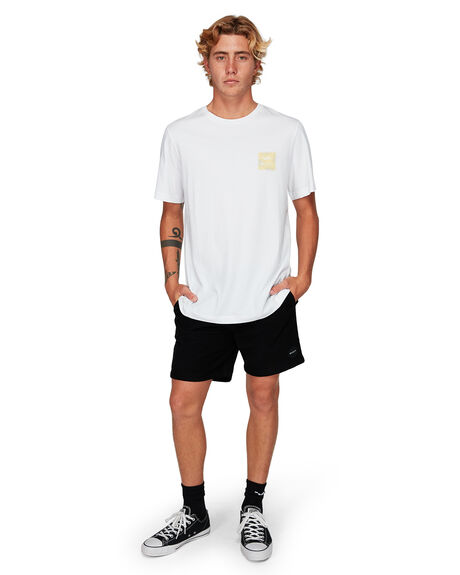 BRIGHT LEMON MENS CLOTHING RVCA TEES - RV-R182062-BT0