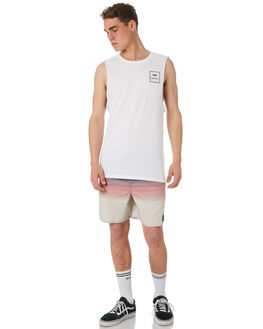 OCEAN TEAL MENS CLOTHING RVCA BOARDSHORTS - R181408OCTEA