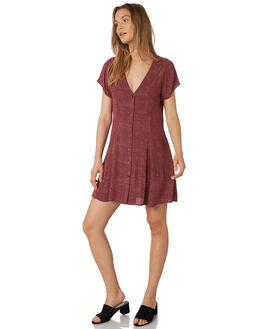 BORDEAUX WOMENS CLOTHING ROLLAS DRESSES - 12950-2699
