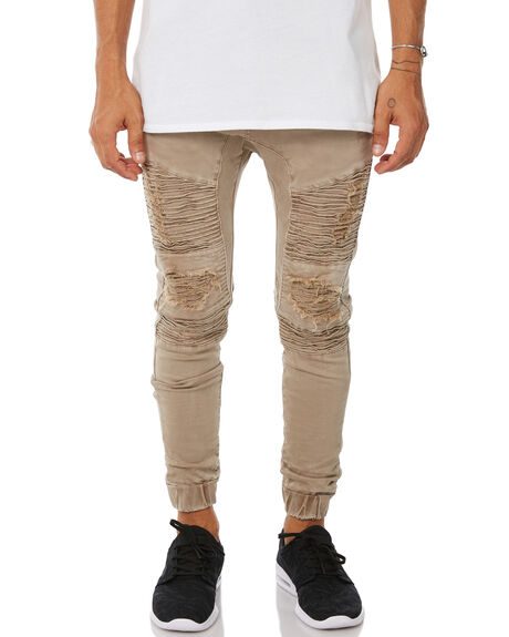 OXFORD TAN MENS CLOTHING NENA AND PASADENA JEANS - NPMHCP002OTAN