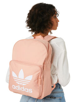 DUST PINK WOMENS ACCESSORIES ADIDAS BAGS + BACKPACKS - DW5188PNK