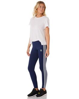 DARK BLUE WOMENS CLOTHING ADIDAS PANTS - DV2615BLU