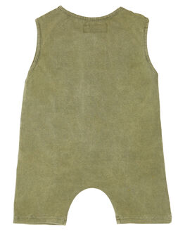 OLIVE KIDS BABY CHILDREN OF THE TRIBE CLOTHING - BBRP0344OLV