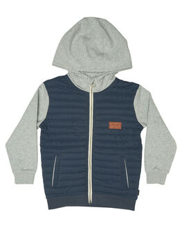 BLUE NIGHTS KIDS TODDLER BOYS QUIKSILVER JACKETS - EQKFT03234BST0