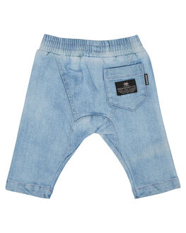 BLEACHED BLUE KIDS BOYS MUNSTER KIDS PANTS - MI162PA01BLCHBL