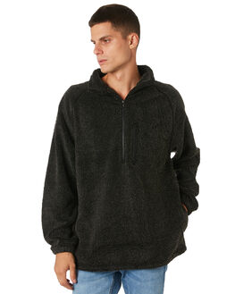 BLACK MENS CLOTHING RUSTY JUMPERS - FTM0894BLK