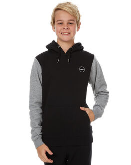 BLACK KIDS BOYS SWELL JUMPERS - S3173444BLK