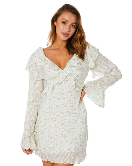 IVORY COMBO OUTLET WOMENS FREE PEOPLE DRESSES - OB1240766IVCMB
