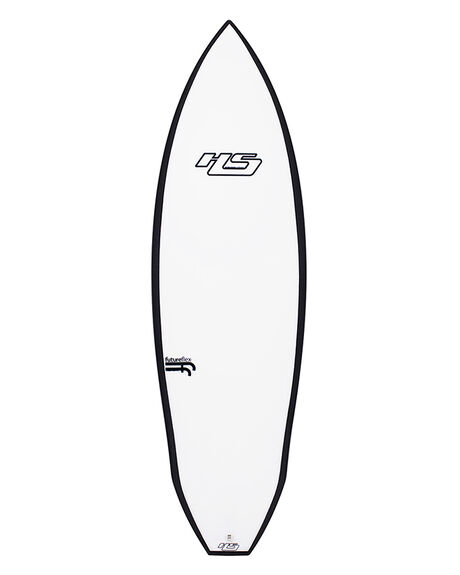 WHITE BLACK BOARDSPORTS SURF HAYDENSHAPES SURFBOARDS - HSMERLOTFFWHTBK
