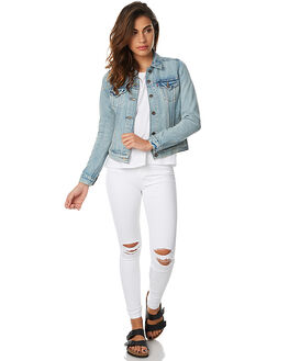 BLUE SOUNDS WOMENS CLOTHING LEVI'S JACKETS - 29945-0009BSNDS