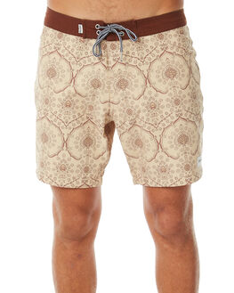 MOROCCAN GOLD MENS CLOTHING RHYTHM BOARDSHORTS - APR18M-TR01GOL