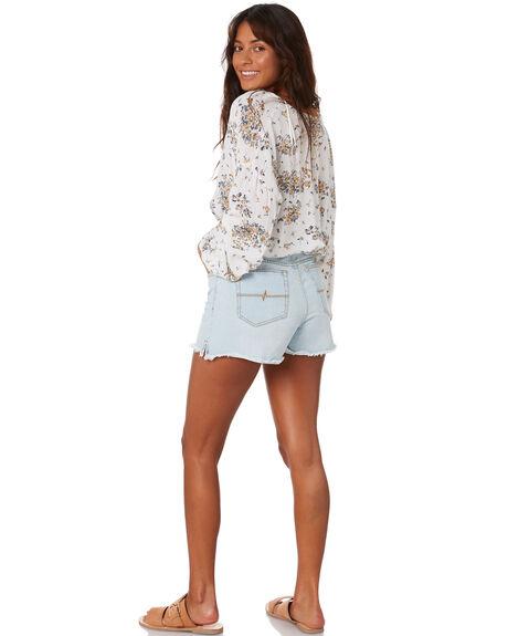 ASPEN BLUE WOMENS CLOTHING RUSTY SHORTS - WKL0683APB