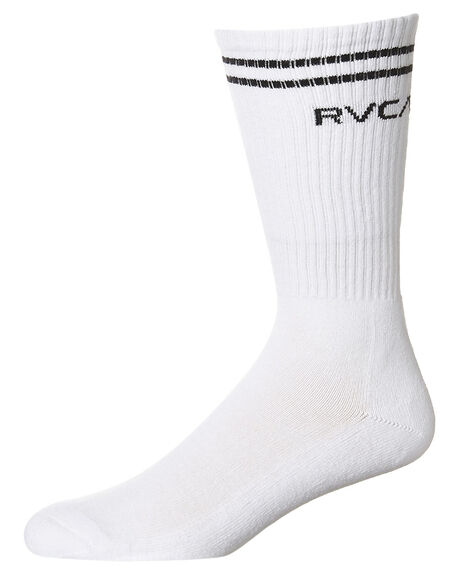 WHITE MENS ACCESSORIES RVCA SOCKS + UNDERWEAR - R352601AWHI