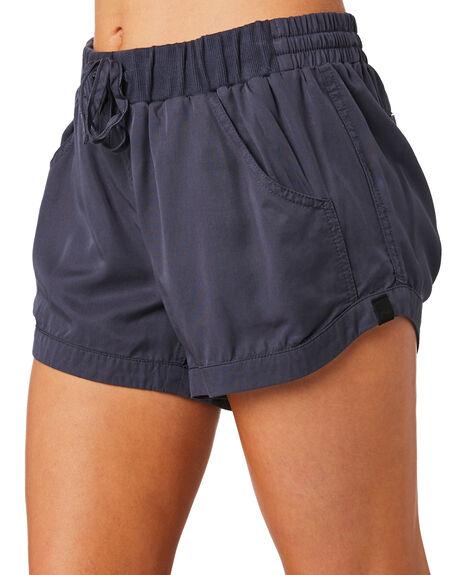 DARK SAPPHIRE WOMENS CLOTHING RUSTY SHORTS - WKL0590DRS