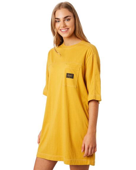 OCHRE WOMENS CLOTHING STUSSY DRESSES - ST192505OCH