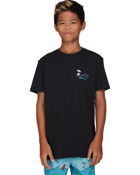 BLACK KIDS BOYS BILLABONG TOPS - BB-8503082-BLK