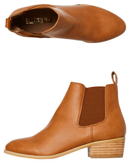 TAN WOMENS FOOTWEAR BILLINI BOOTS - B961TAN