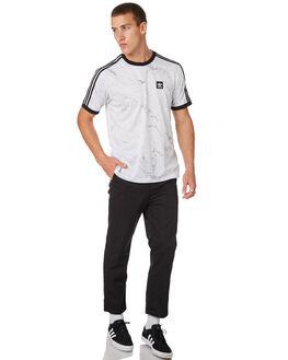 WHITE MENS CLOTHING ADIDAS TEES - DH3889WHT