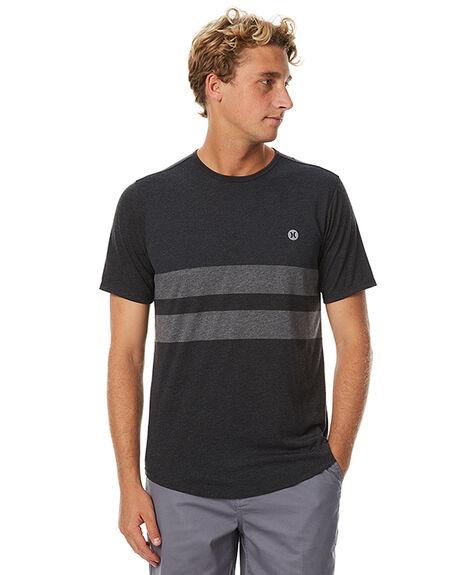 2fe35e5819593 Hurley Dri Fit Blender Mens T Shirt - Black