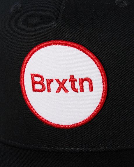 BLACK MENS ACCESSORIES BRIXTON HEADWEAR - 10739BLK