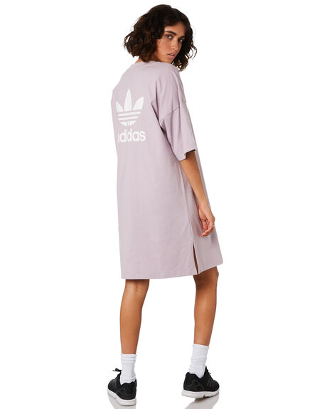 SOFT VISION WOMENS CLOTHING ADIDAS DRESSES - ED7581GREY