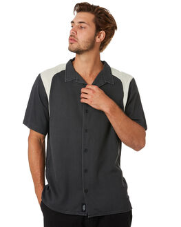 HERITAGE BLACK MENS CLOTHING THRILLS SHIRTS - TA20-219BHHRBLK