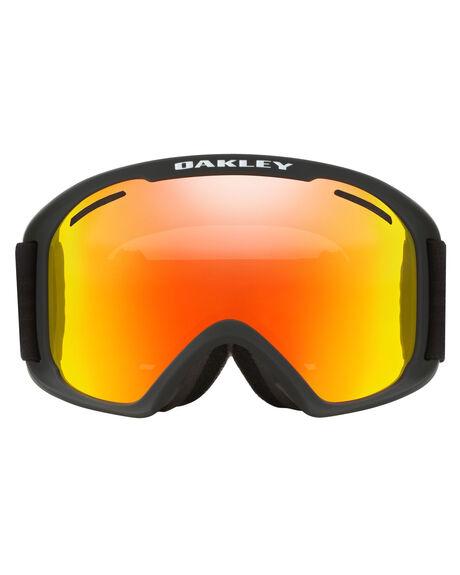 MATTE BLACK FIRE BOARDSPORTS SNOW OAKLEY GOGGLES - OO7112-01MBLK