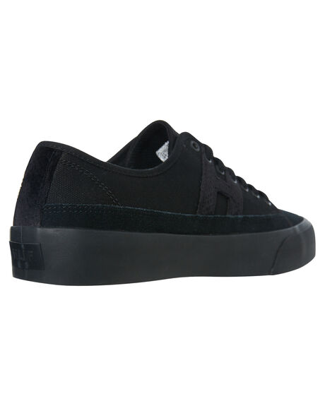 BLACK MENS FOOTWEAR HUF SNEAKERS - VC00104-BLACK