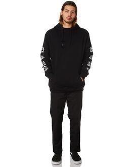 BLACK MENS CLOTHING SANTA CRUZ JUMPERS - SC-MFC8919BLACK