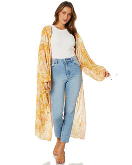 YELLOW COMBO WOMENS CLOTHING FREE PEOPLE FASHION TOPS - OB11266807002