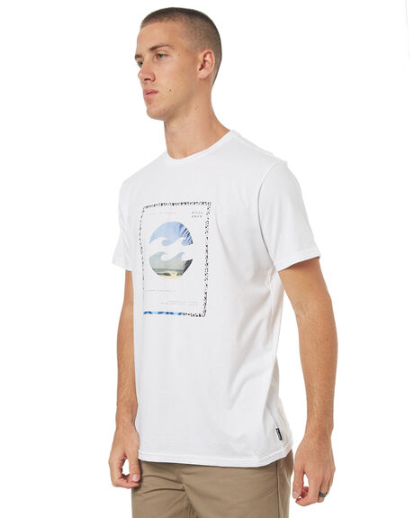 WHITE MENS CLOTHING BILLABONG TEES - 9585014WHT