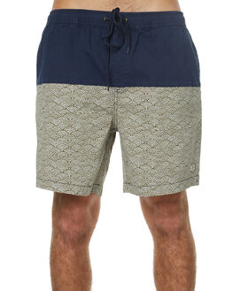 INDIGO MOSS MENS CLOTHING DEUS EX MACHINA BOARDSHORTS - BDMP72617INDMO