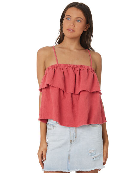 VINTAGE ROSE OUTLET WOMENS RUSTY FASHION TOPS - WSL0585-VRS